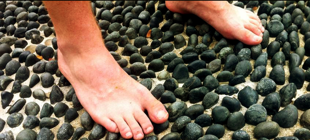 stone walk foot therapy
