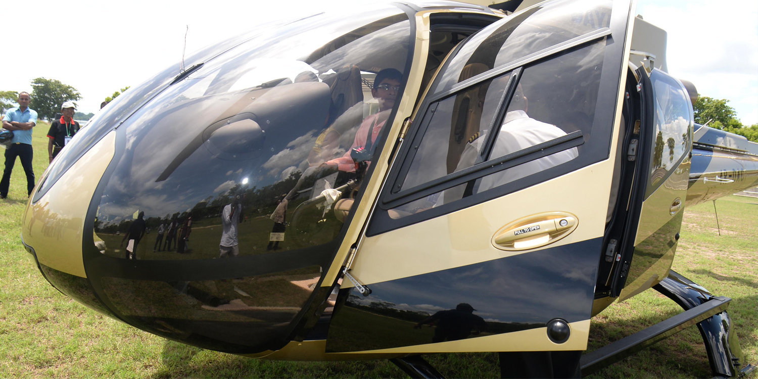 CHARTERED CHOPPER AND TRAVEL PACKAGES